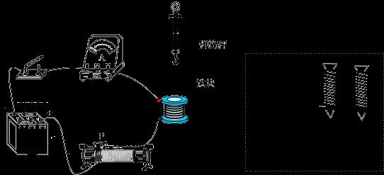 """图是小明设计的""""探究电磁铁""""的实验装置图."""